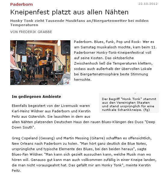Kneipenfest Paderborn